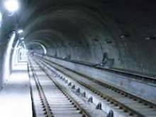Milan Metro Line 2 track Zara - Maciachini